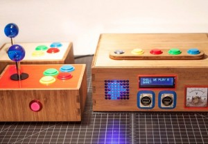 Retro iam8bit Entertainment System Games Console And Artwork Event