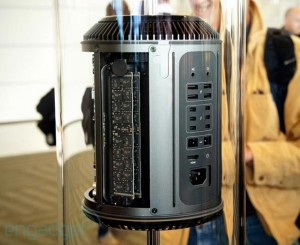 Apple Mac Pro Poses For The Camera