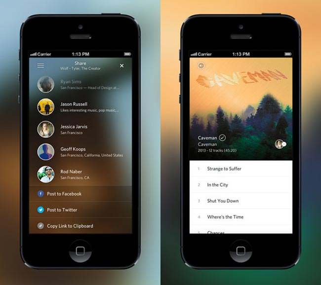 Rdio iPhone And iPad App Updated
