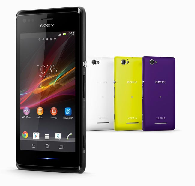 Sony Xperia M To Land In The UK In August