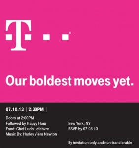 T-Mobile Press Event Announced For 10th July