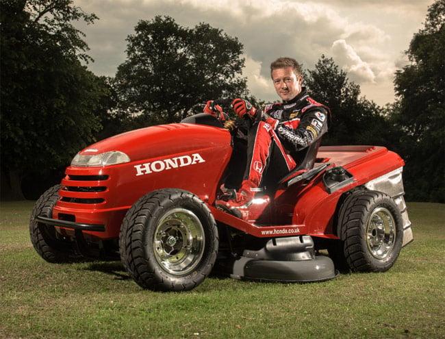 130mph Honda Mower