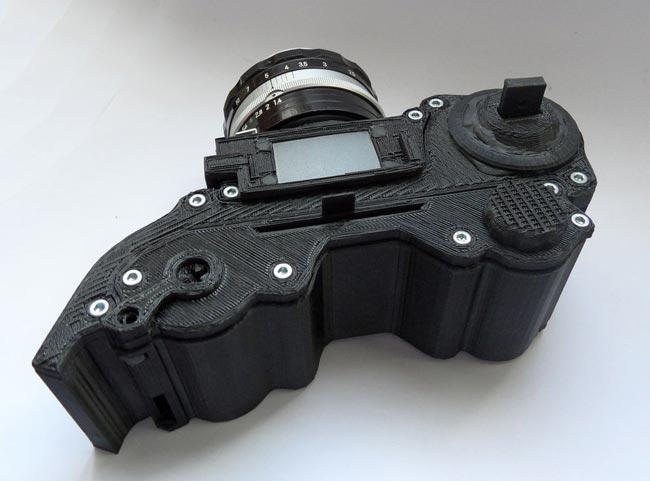 3D Printed Camera