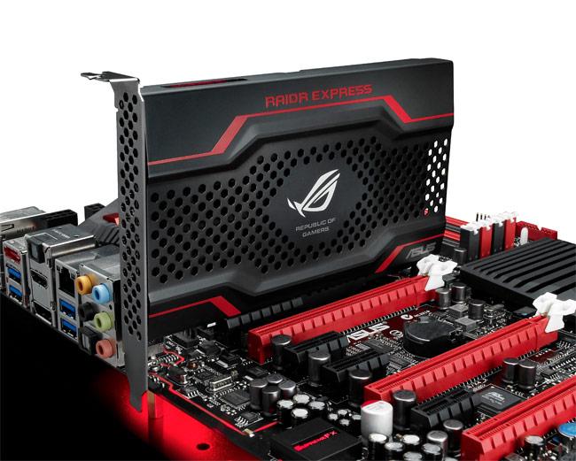ASUS RAIDR Express PCI-e SSD