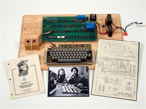 Rare Apple I Computer Sells For $387,750 Via Christie's Online Auction