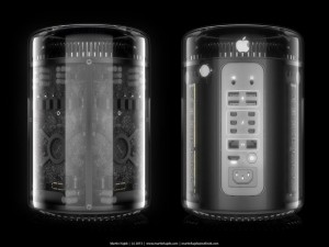 Apple Mac Pro 2013 Glass Case Concepts Created By Martin Hajek