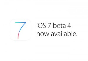 Apple iOS 7 Beta 4 Now Available For Developers To Download