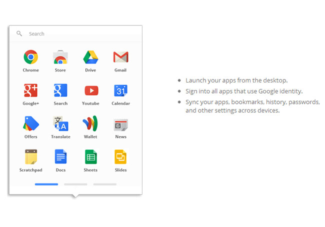 Google Chrome App Launcher