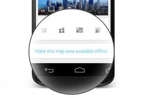Google Maps Offline Button Enabled In App After User Feedback