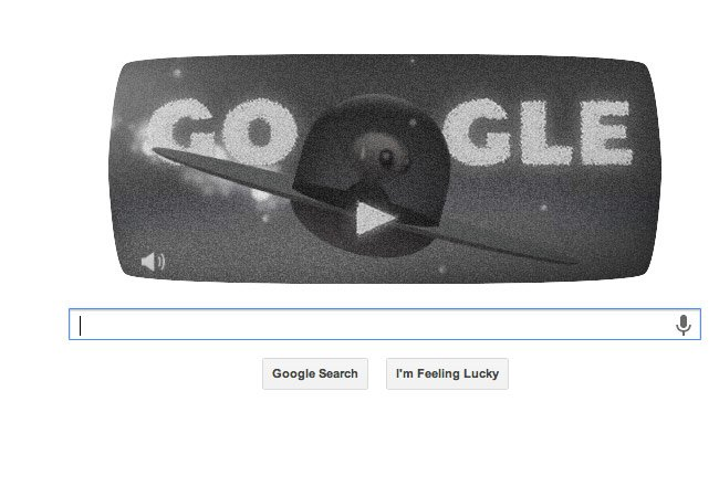 Google Roswell Doodle
