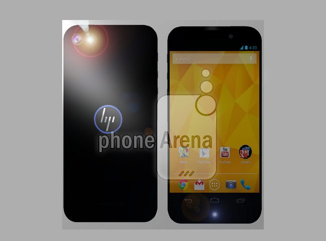 Rendering of Its First Android Smartphone Leaked