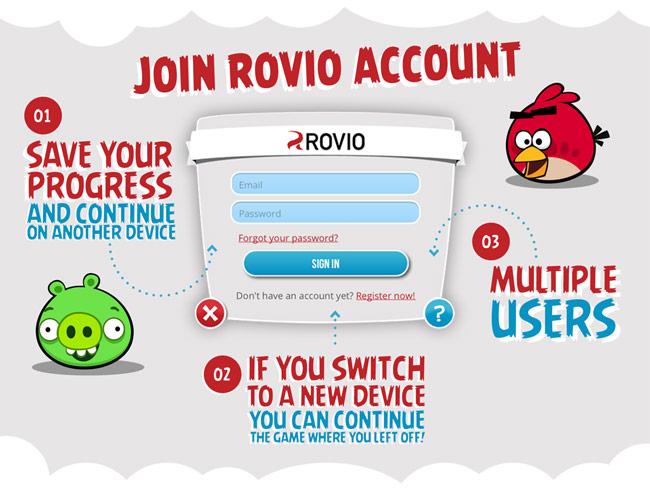 Rovio Account