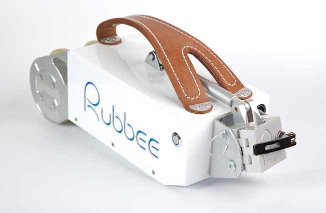 Rubbee Electric Drive For Bicycles Can Be Fitted In Seconds (video)