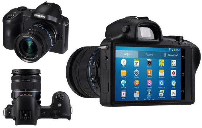 Samsung Galaxy NX Camera Launches In The UK For £1,299 (video)
