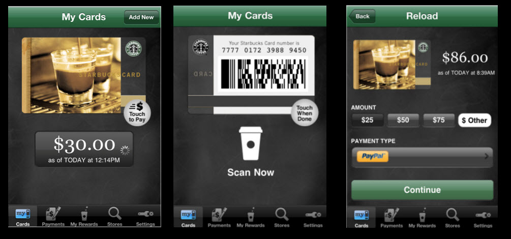 Starbucks-Card-Mobile-App