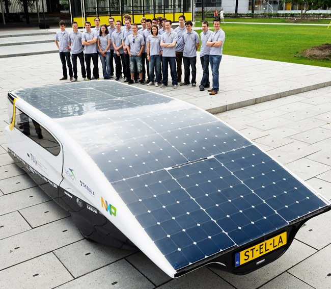 Stella Solar-Powered Family Car Unveiled With 600Km Range (video)