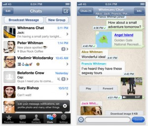 WhatsApp iPhone App Now Available for Free To Download
