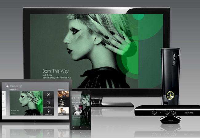 Xbox Music Web Player
