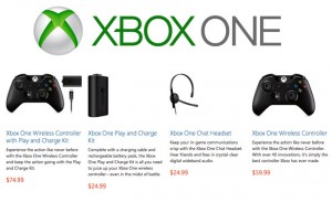 Xbox One Controller, Headset, Play and Charge Kit Now Available To Pre-Order