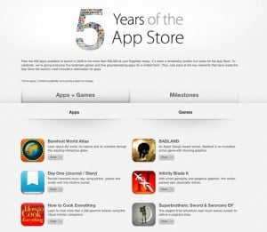 Apple App Store Is 5 Years Old Today
