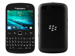 Leaked Press Render of Blackberry 9720 Samoa