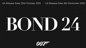 Bond 24 Movie Announced For 2015
