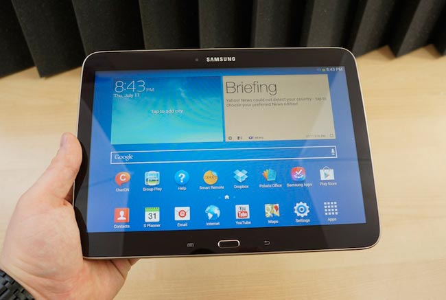 samsung galaxy tab  gets unboxed video