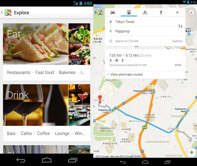 Google Maps For Android Update Features New Discovery And More