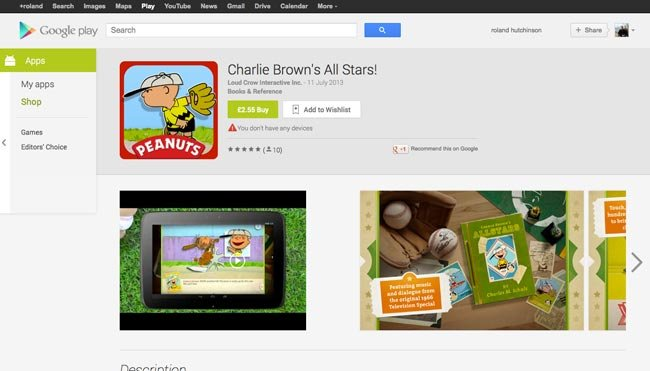 Google Play Store On The Web Gets A New Look