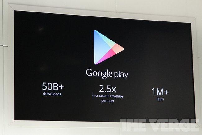 Google Play beats App Store with over 1 million apps