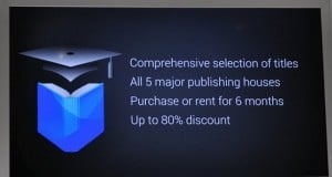 Google Play to add Textbook purchases and rentals