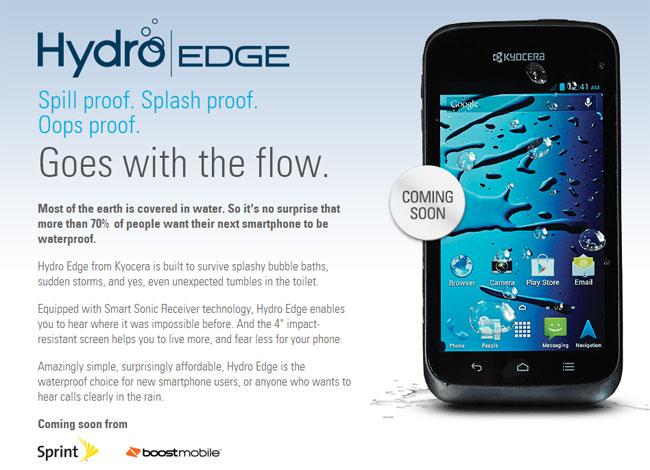 Kyocera Hydro Edge