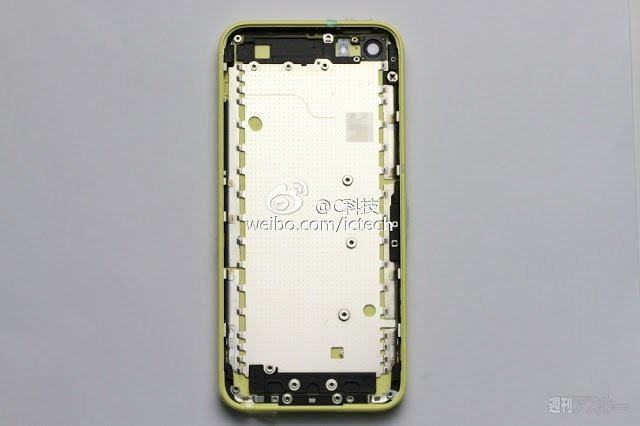 Leaked Images Compares Low Cost iPhone with iPhone 5