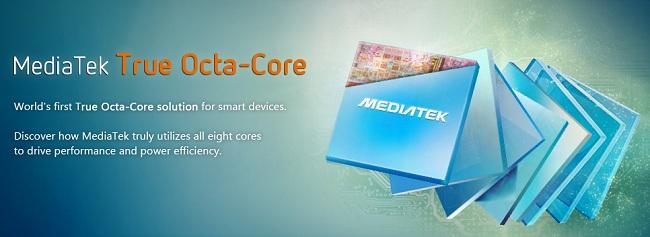 Mediatek  Octa Core Processor