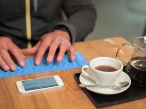 myType Keyboard : Bluetooth Equipped Flexible Pocket Keyboard (video)