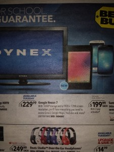 Rumor: Nexus 7 Expected to Launch at Best Buy on 30 July
