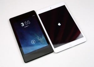 New Nexus 7 vs iPad Mini (Video)