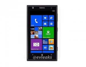 Nokia Lumia 1020 (Nokia EOS) Press Shot Leaked