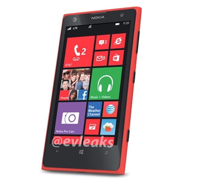 Red Nokia Lumia 1020