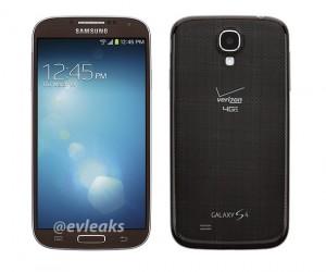 Rumor: Verizon Galaxy S4 to Come in Brown Autumn Color?