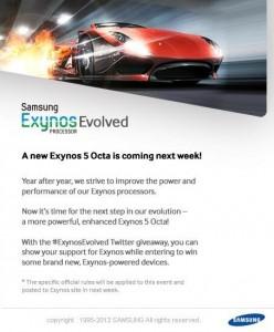 Rumor: Samsung Galaxy Note 3 To Feature Exynos 5 Octa