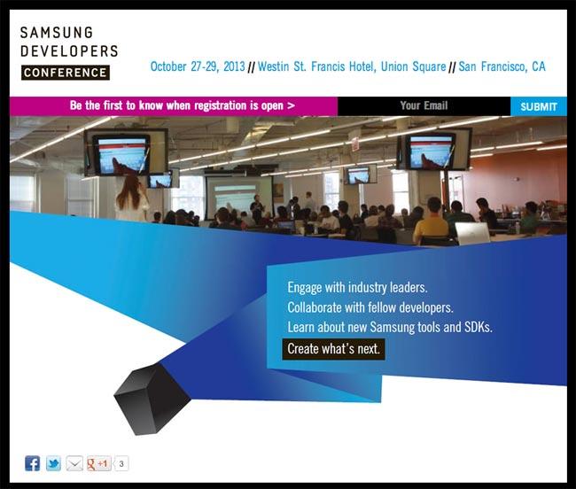 Samsung Global Developers Conference