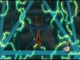 spiderman electricity