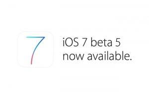 Apple iOS 7 Beta 5 And Xcode 5 Developer Preview 5 Now Available
