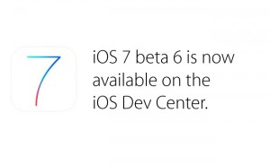 Apple iOS 7 Beta 6 Released By Apple