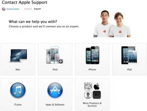Applecare Support Website Redesigned With 24 Hour Live Chat Service