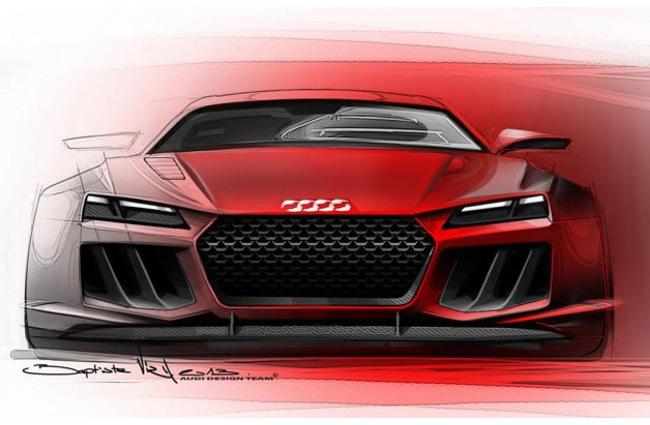 Quattro Sport E-Tron Concept