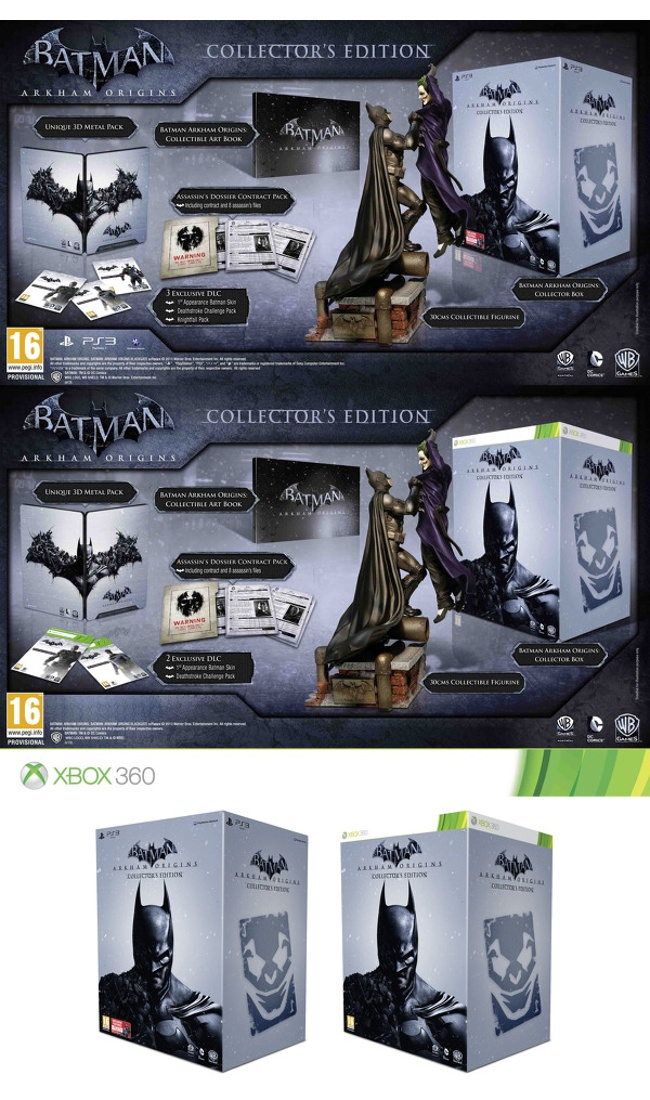 Batman: Arkham Origins Collector's Edition Unveiled
