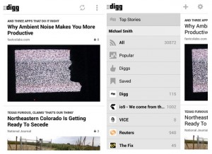 Digg Reader App For Android Launches