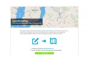 Foursquare Superusers Receive Web Links To Map Editing Tools